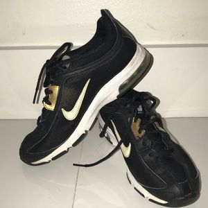Nike Air Max Women's  size 7.5 Trainers black gold